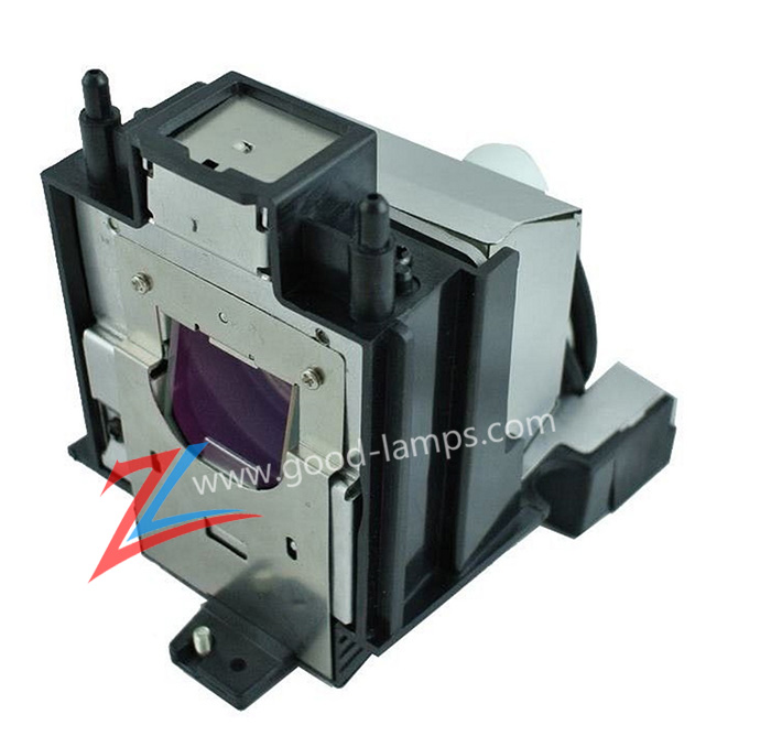 Replacement Lamp Assembly with Genuine Original OEM Bulb Inside for Sharp PG-D3750W Projector Power by Phoenix