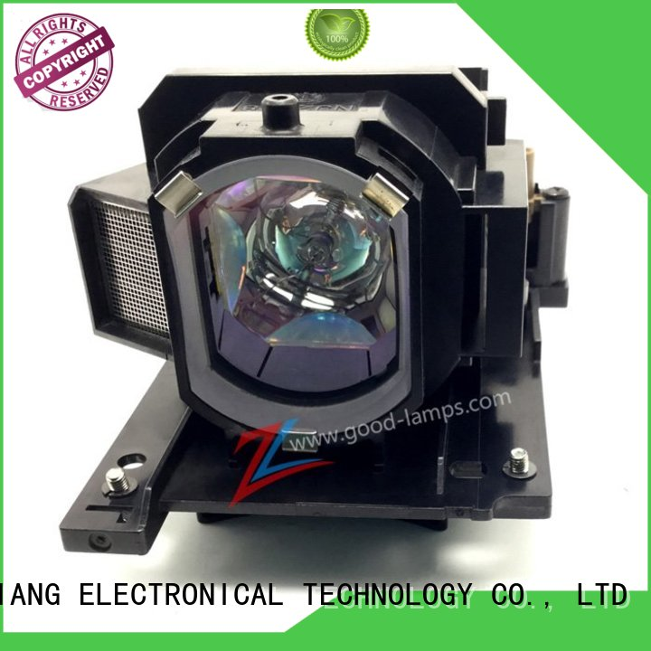 Genuine OEM Replacement Lamp for HITACHI DT00205 Projector IET Lamps with 1 Year Warranty Power by Philips