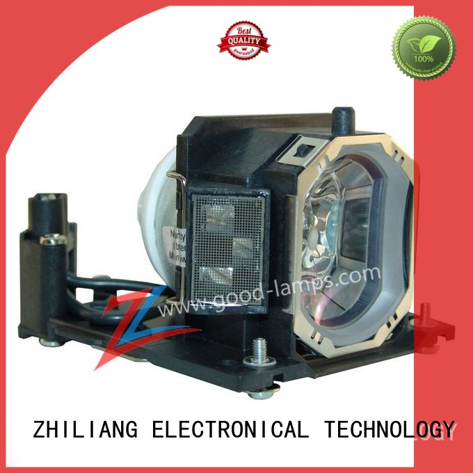 Replacement Lamp Assembly with Genuine Original OEM Bulb Inside for Christie 03-000667-01P Projector Power by Ushio