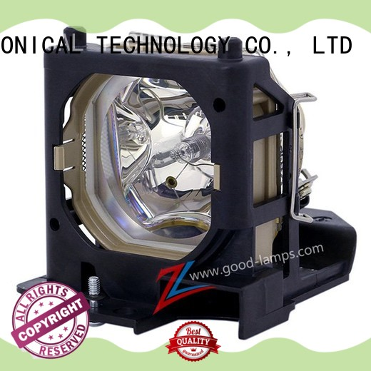 Replacement Lamp Assembly with Genuine Original OEM Bulb Inside for HITACHI HCP-610X Projector Power by Ushio
